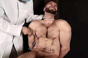 Nipple clamped in the basement