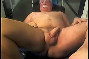 Dad's Thick Cock Completely Naked