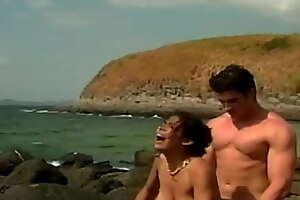 yinita en la playa
