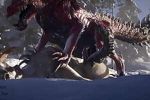monster hunter feral animation sex fantasy animals