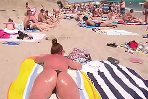 Candid Pawgs Suntanning - Thongs Only