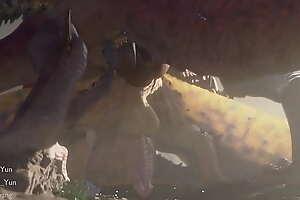 monster hunter ferals animation sex fantasy animals Part 2