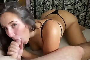 Brunette Gives The Best Blowjob