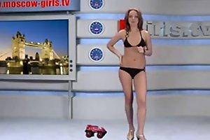 Russian Moskow girl TV Alena Schwul / Spa&szlig_