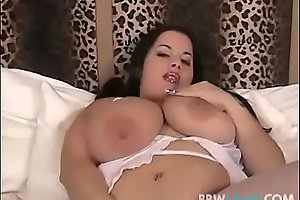 Huge Tit Plumper Devyn Devine Plays With Her Pussy