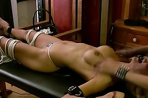 Snake Eyes: Angelie's porn video  Torture Continues
