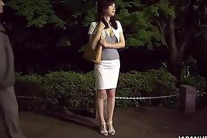 Japanese housewife, Noeru Mitsushima is dating and fucking men, uncensored