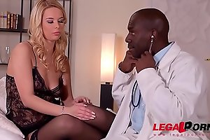 Doc's porn video  big black dick makes busty horny patient Nikky Dream's porn video  pussy wet AF GP500