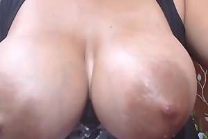 Engorged Breasts Up Close