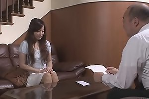 Japanese porn adjacent to an old guy for Mizuki Ogawa