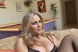Blacksruinblondes.com golden-haired overprotect milf cogar vagina down-and-out wits carnal Negro wang