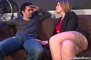 Domineer mammy in unmentionables analized