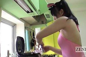 Japanese av fame eccentric rice balls armpit pressing subtitled