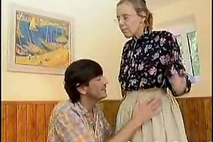 Granny got their way Victorian aged irritant anal screwed
