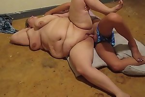 Horny pregnant woman sucks on huge unearth then gets fucked doggy raw and sideways with pull out cumshot all forsake slit orgasm