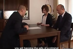 Asian slut has to fuck to save her money grabbing hubby