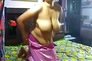Powered Juhi aunty sucking increased wits hard screwing