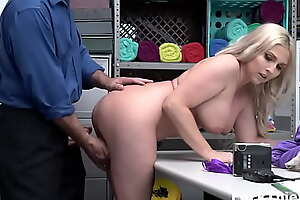 Thick Blonde Milf Caught Shoplifting and f. Fucked
