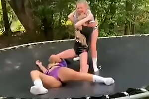 Teen Girls wrestling 02