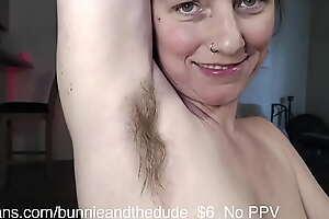 Hairbrush Musky Pungent Natural Armpits - BunnieAndTheDude