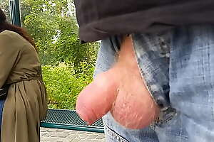 Dickflash at Bus Stop for 2 Teens #4/4