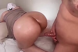 Real Horny Arab Hijab Milf mom Takes Cock in Asshole mov- 20