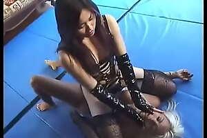 interracial wrestling humiliation